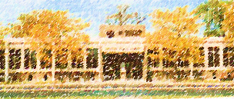 Painting of 2 Friendship Plaza building